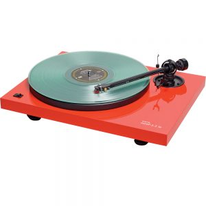 Music Hall MMF2.2LE Ferrari Red Turntable