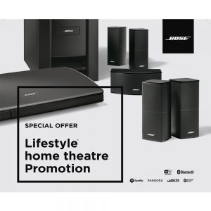 Bose lifestyle home theatre promotion