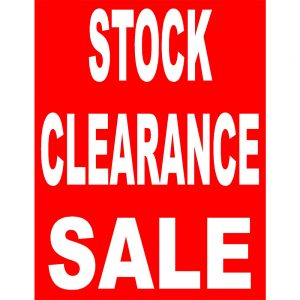 2016 USED, FLOOR STOCK AND DEMONSTRATION CLEARANCE